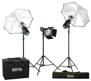 Britek Flash Light Kit, total 456 wt.