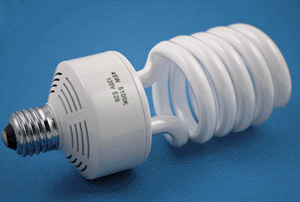 PBL Fluorescent Bulb 45wt. (equal to 150 wt. incandescent light)