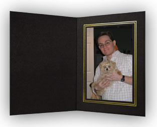 B. Oshrin The REBECCA Black Photo Folder 8x10 (Pack of 25)