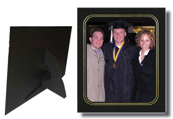 B. Oshrin Sara Easel Photo Folder 8X10/10X8 Pack of 25