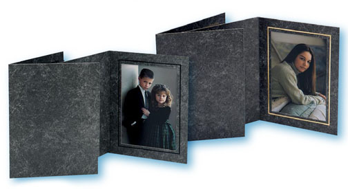 TAP Avanti Photo Folder - Cardboard Frame - Dark Gray 8x1...