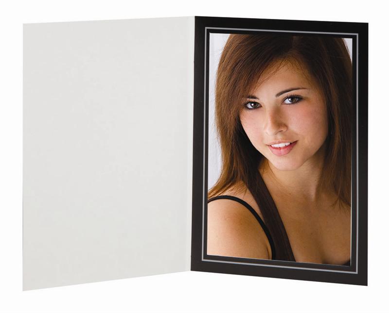 TAP Filigree Folder Blk/Slvr 8x10 Pk of 250