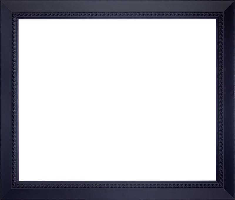 Wood Frame For a 18x24 Picture - Black