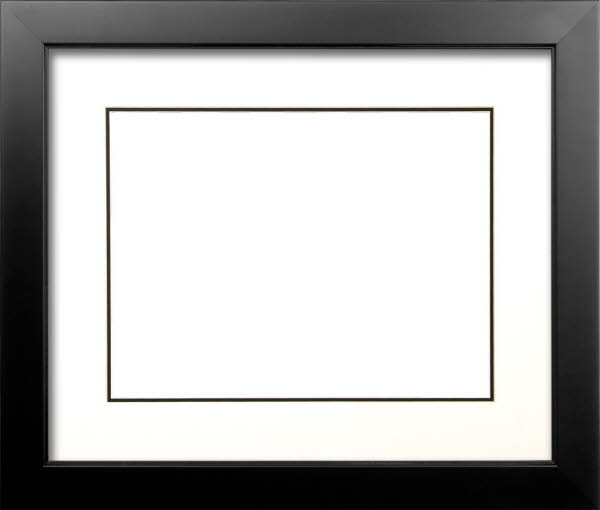 Wood Frame For A 20 X 30 Picture Black