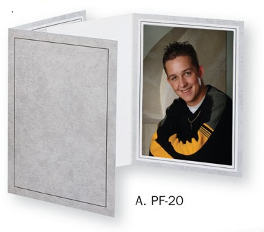 Photo Folder for 4x5 picture - Tap PF-20 Light Gray Photo...