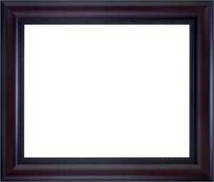 wood frame for a 20x24 picture walnut