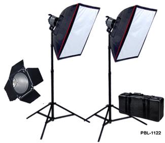 PBL Double QL-1000 Photography - Video Light Kit (total 2...